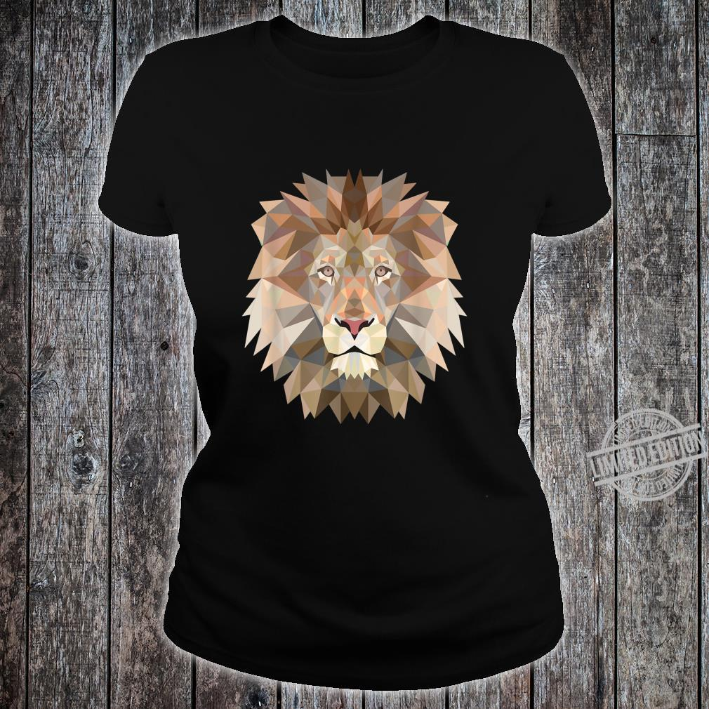 Cool lion design for big cats and predator fans Shirt ladies tee