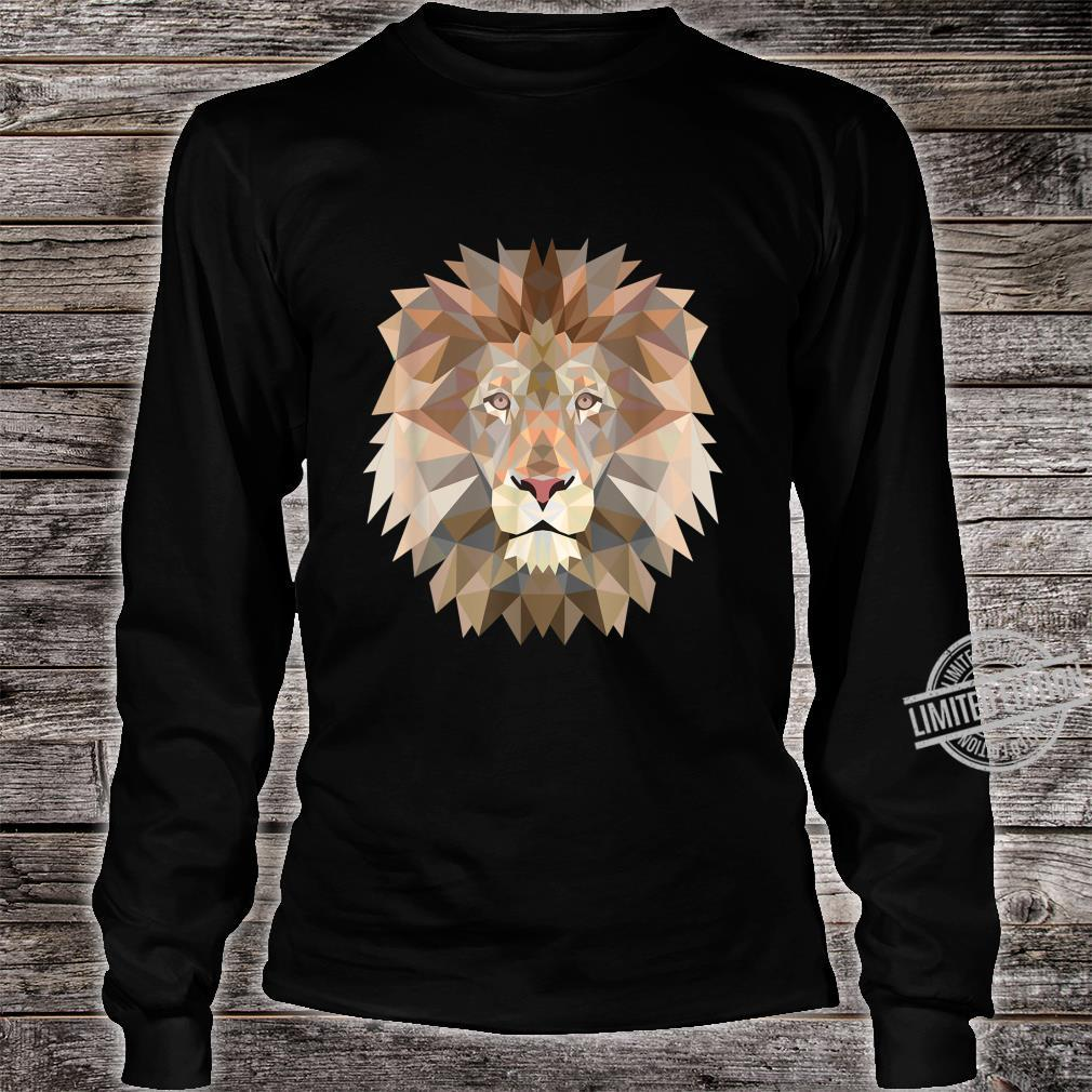Cool lion design for big cats and predator fans Shirt long sleeved