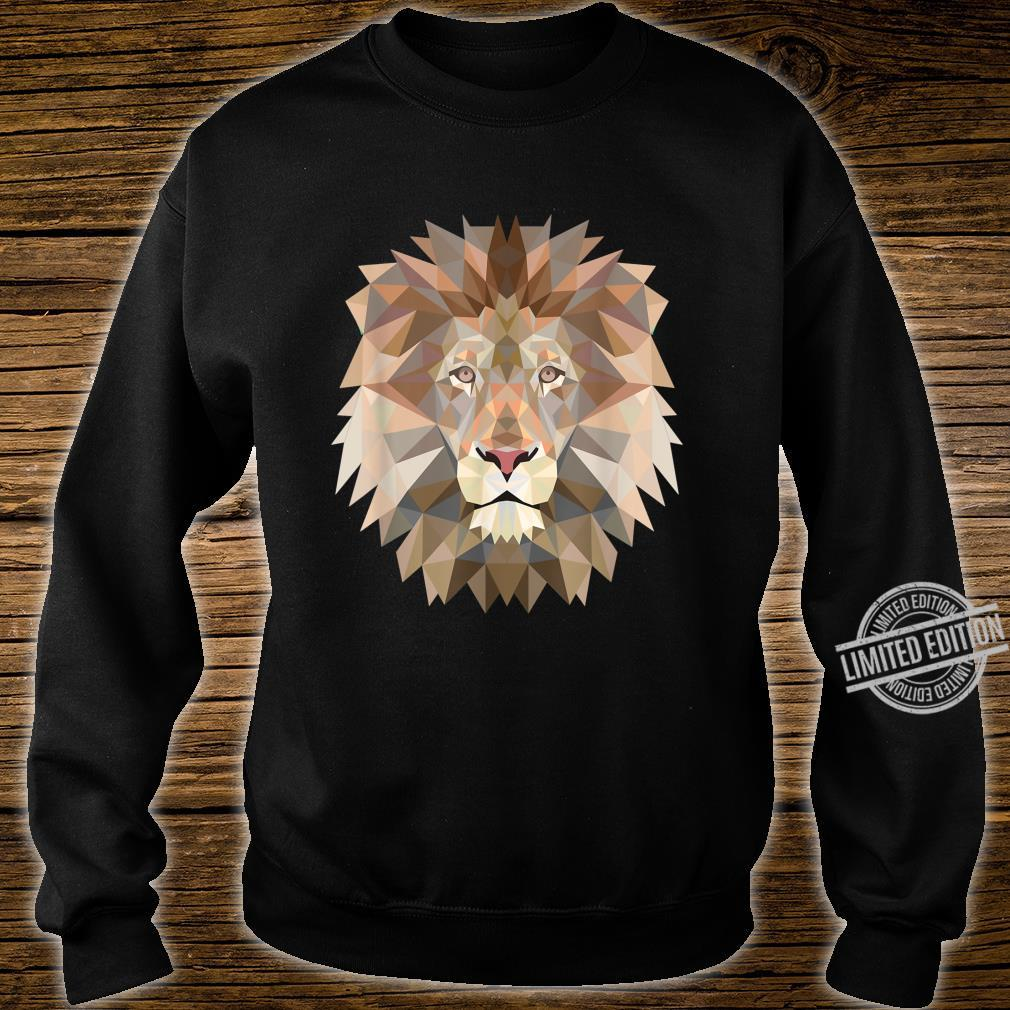 Cool lion design for big cats and predator fans Shirt sweater