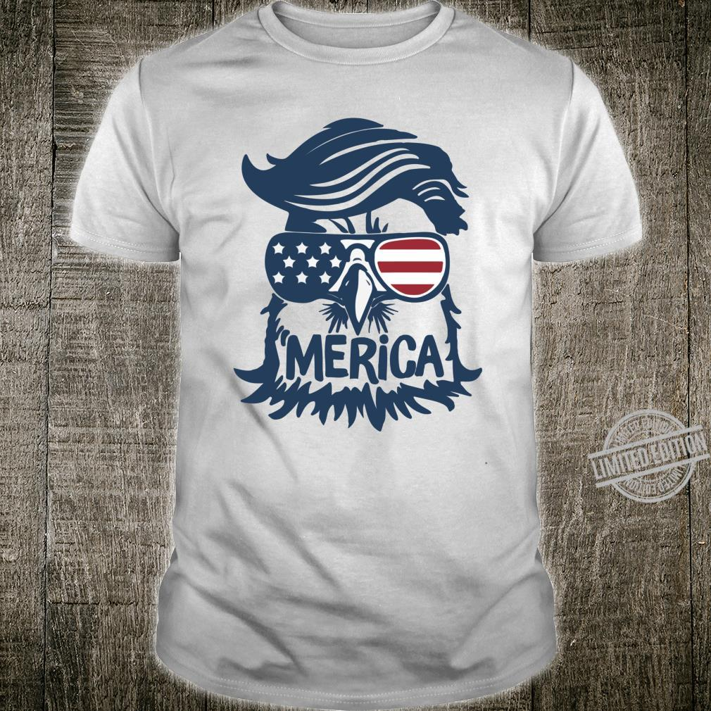 Coole amerikanische Flagge Independence Eagle Shirt