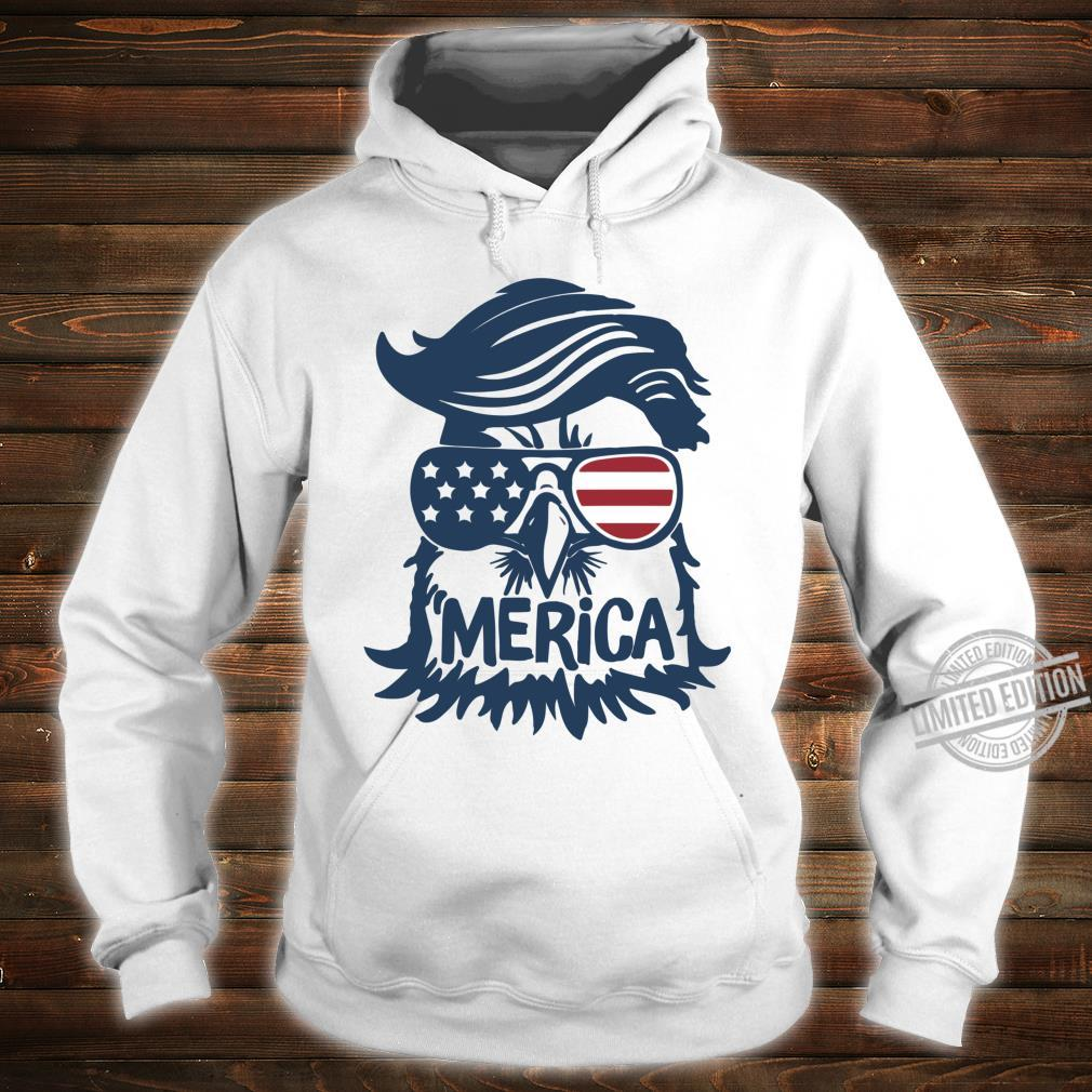 Coole amerikanische Flagge Independence Eagle Shirt hoodie