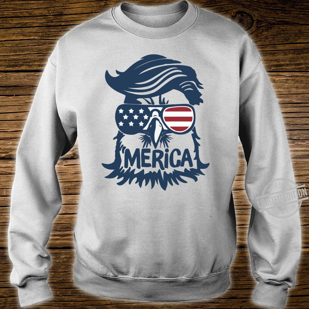 Coole amerikanische Flagge Independence Eagle Shirt sweater