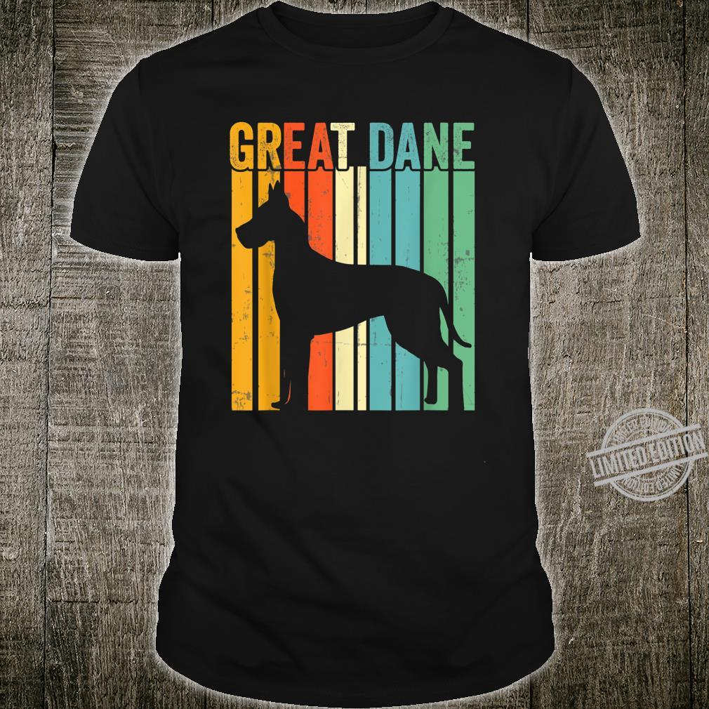 Cute Dog Trainer Great Dane Dad Rescue Dogs Mom Shirt