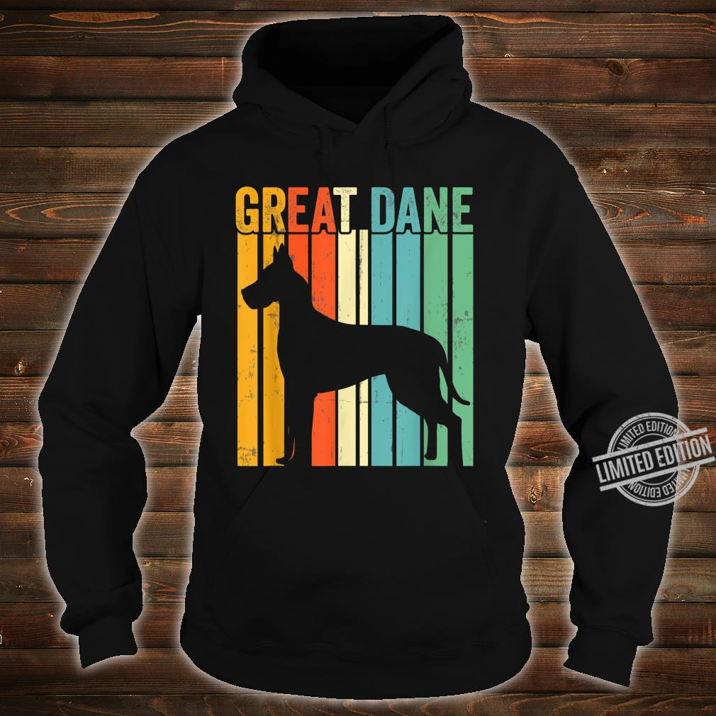 Cute Dog Trainer Great Dane Dad Rescue Dogs Mom Shirt hoodie