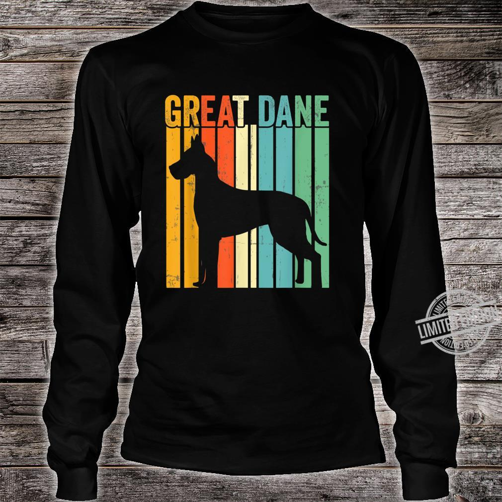 Cute Dog Trainer Great Dane Dad Rescue Dogs Mom Shirt long sleeved