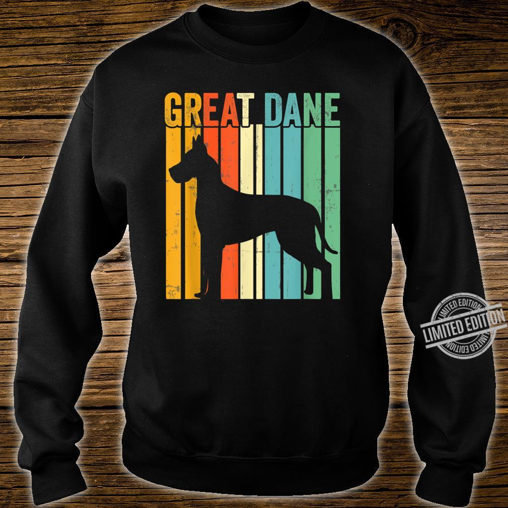 Cute Dog Trainer Great Dane Dad Rescue Dogs Mom Shirt sweater
