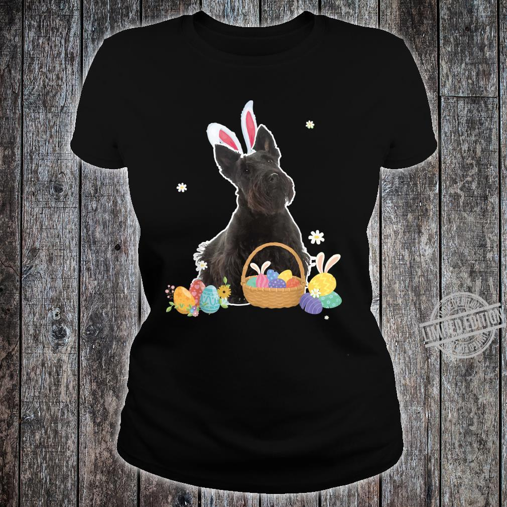Cute Easter For Scottish Terriers Shirt ladies tee
