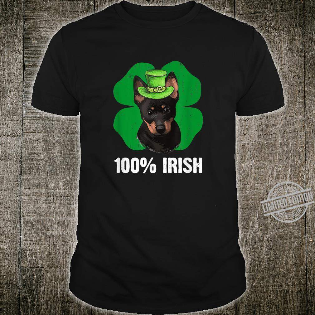 Cute Leprechaun Heeler Dog 100% Irish St Patricks Day Shirt