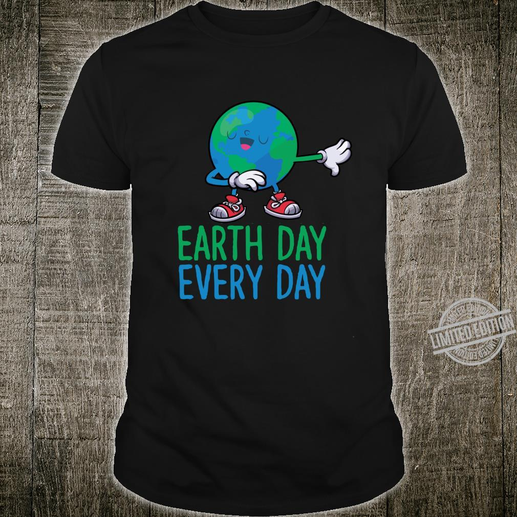 Dabbing Earth Day Long Sleeve Shirt Shirt