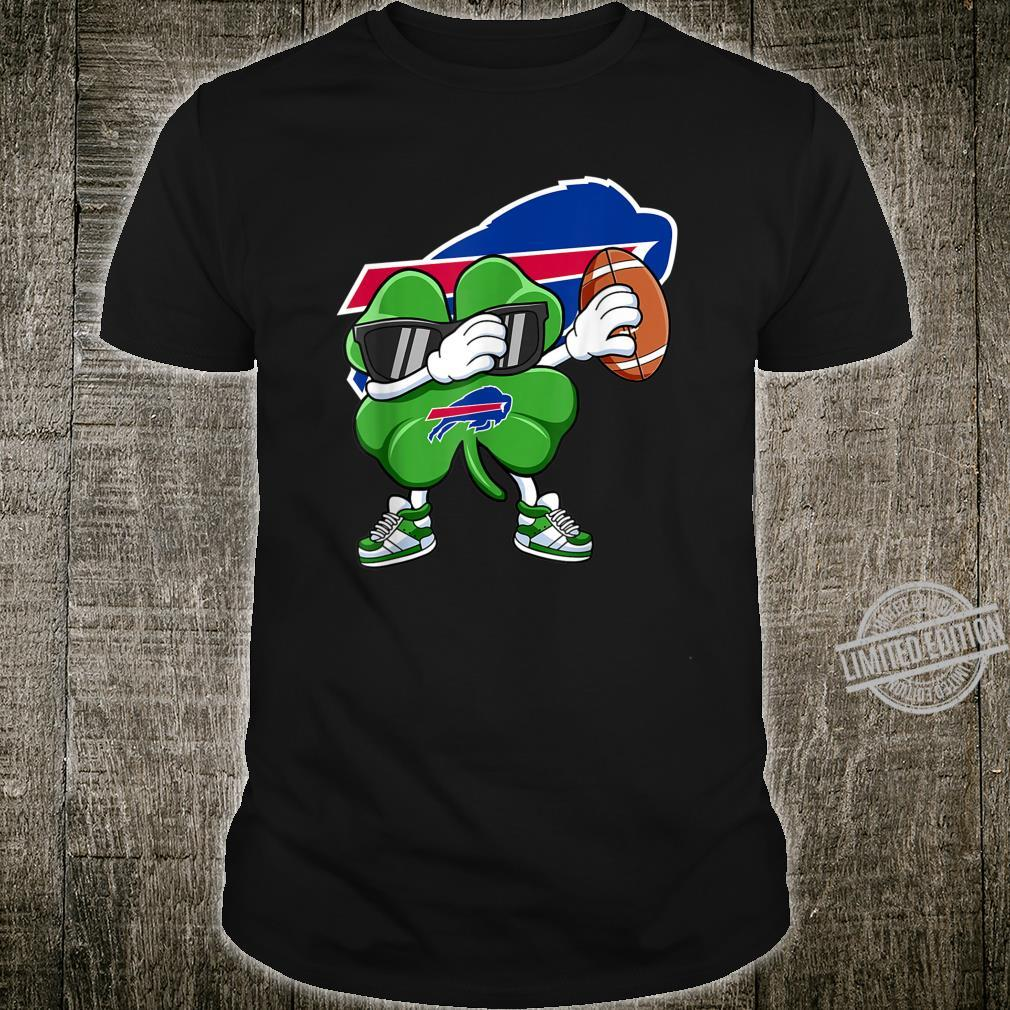 Dabbing Shamrock Football St Patricks Day BuffaloBill Shirt