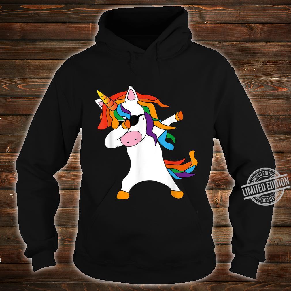 Dabbing Unicorn cute cool Dab Unicorn birthday Shirt hoodie