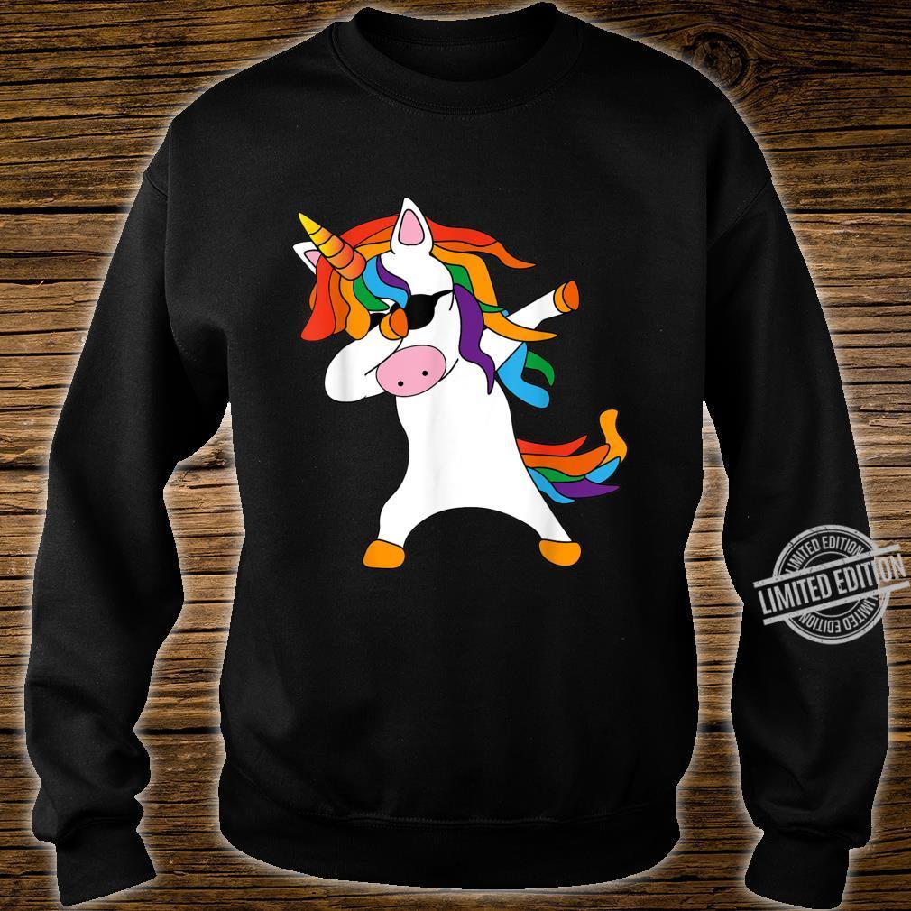 Dabbing Unicorn cute cool Dab Unicorn birthday Shirt sweater