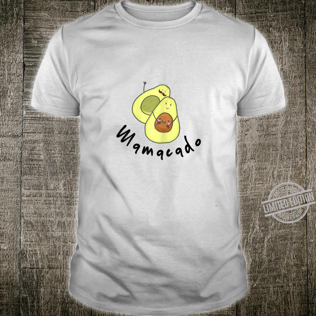 Damen Baby Schwanger Avocado Geschenk Familie Shirt