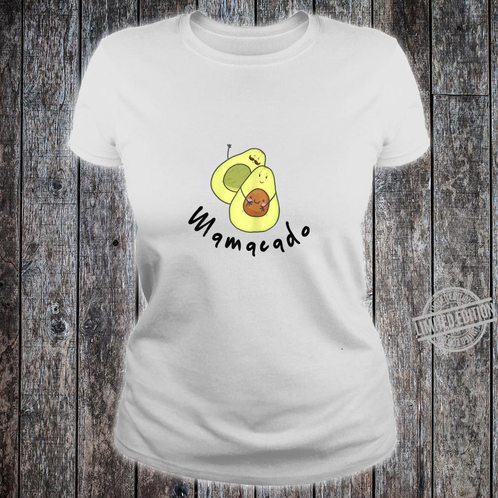 Damen Baby Schwanger Avocado Geschenk Familie Shirt ladies tee