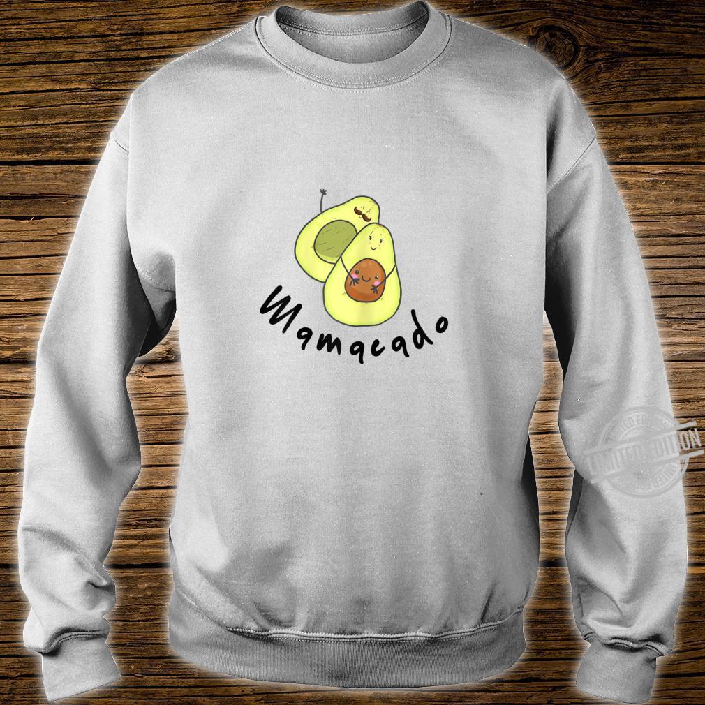 Damen Baby Schwanger Avocado Geschenk Familie Shirt sweater