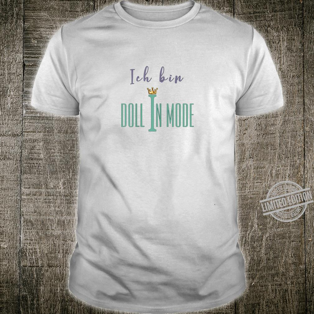Damen Doll in Mode Shirt