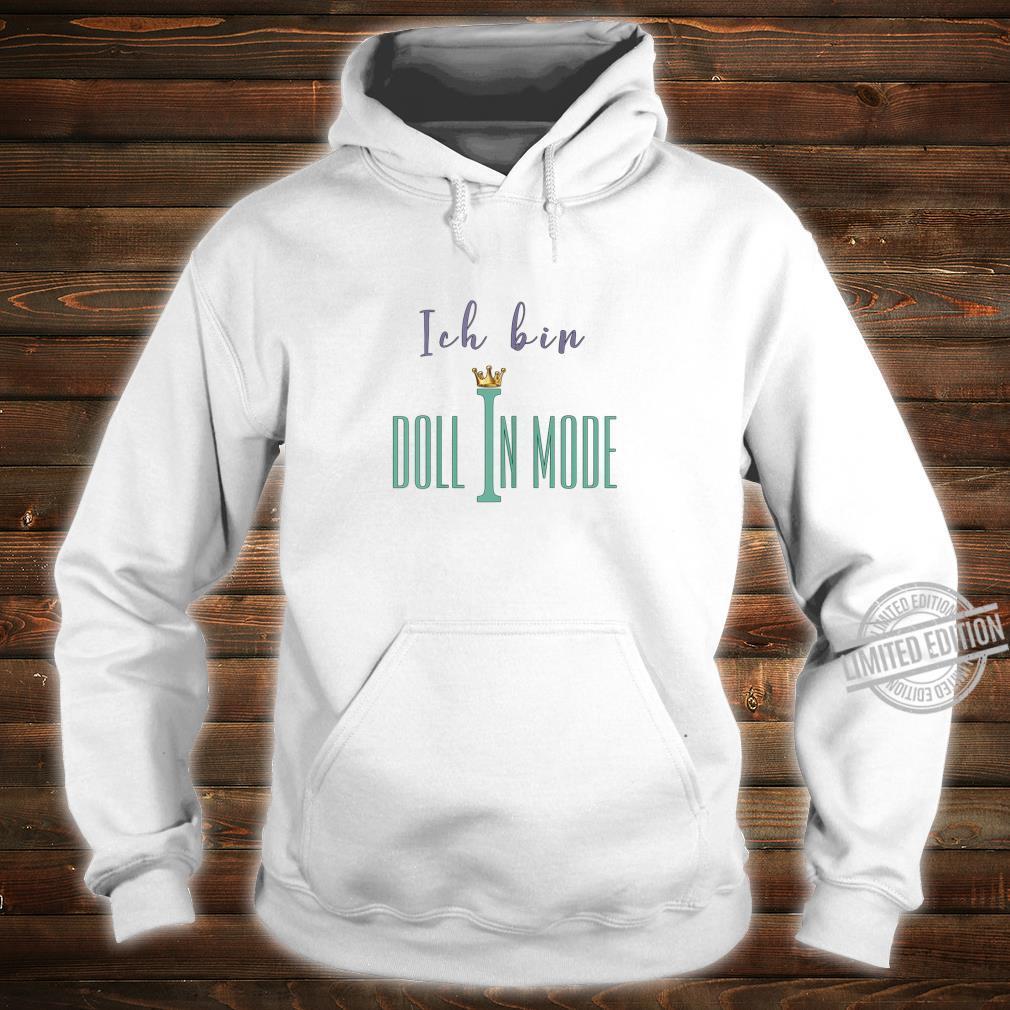 Damen Doll in Mode Shirt hoodie
