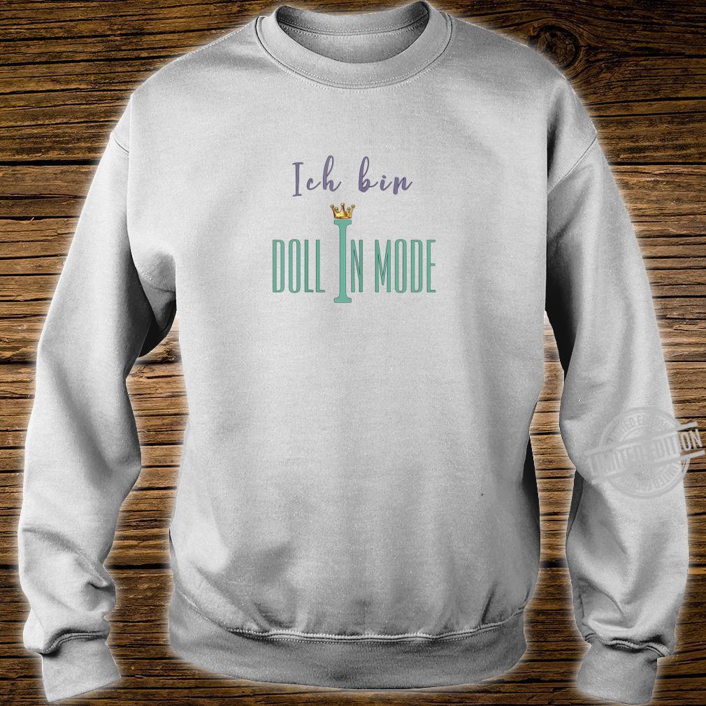 Damen Doll in Mode Shirt sweater