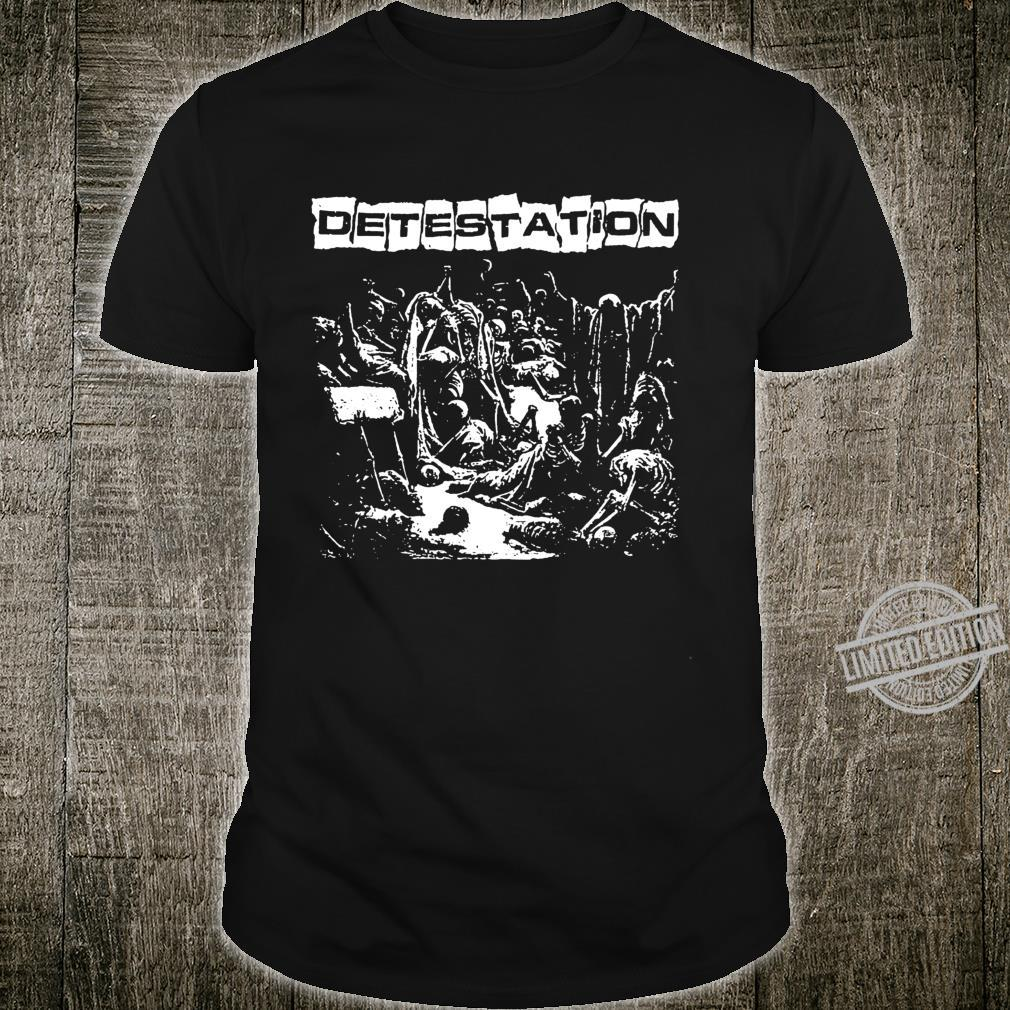 Detestation Shirt Langarmshirt Shirt