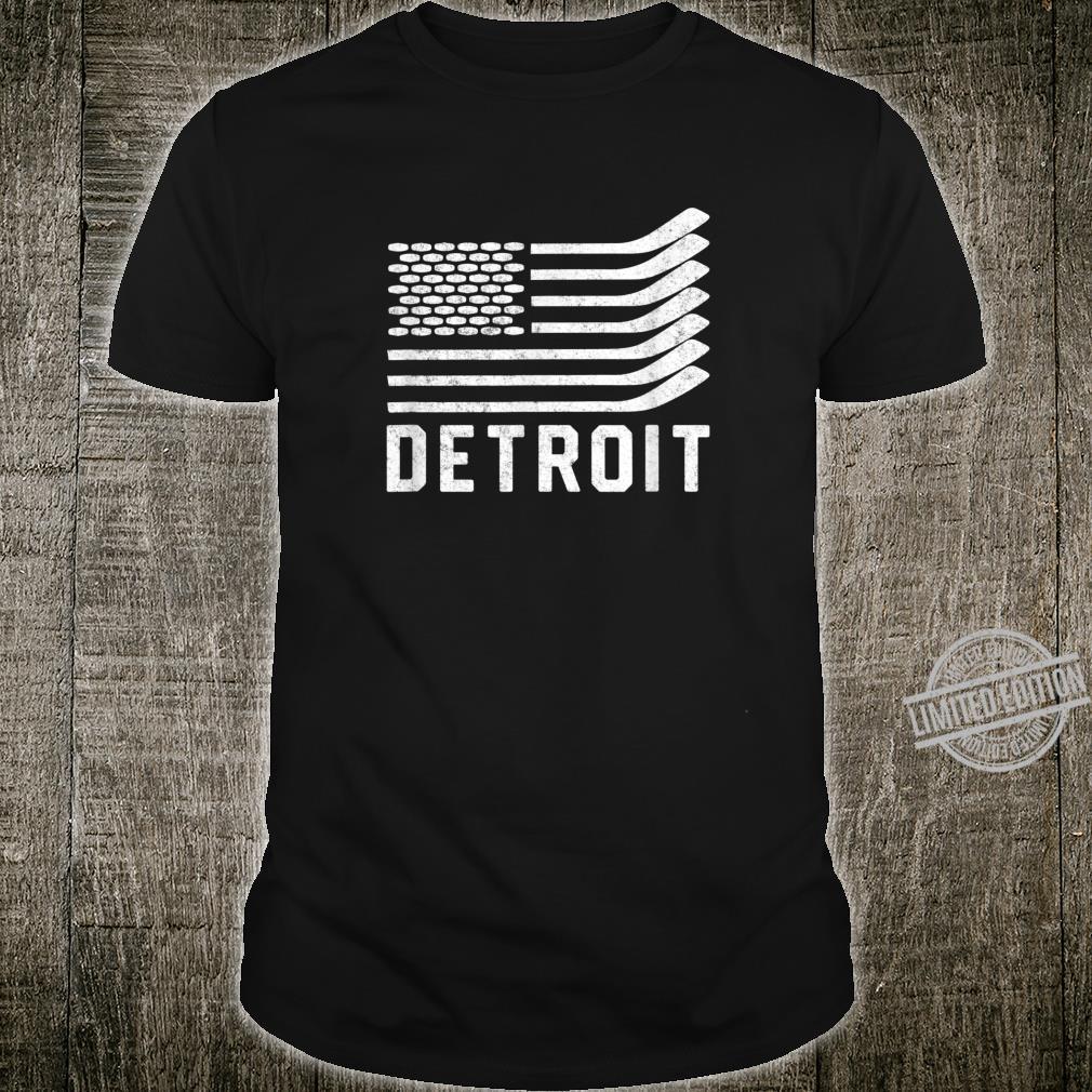 Detroit Hockey Is American Shirt