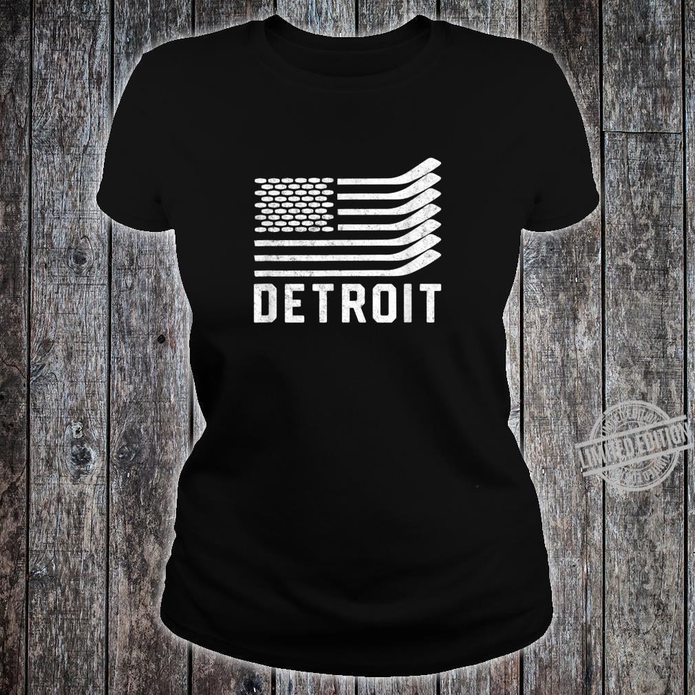 Detroit Hockey Is American Shirt ladies tee