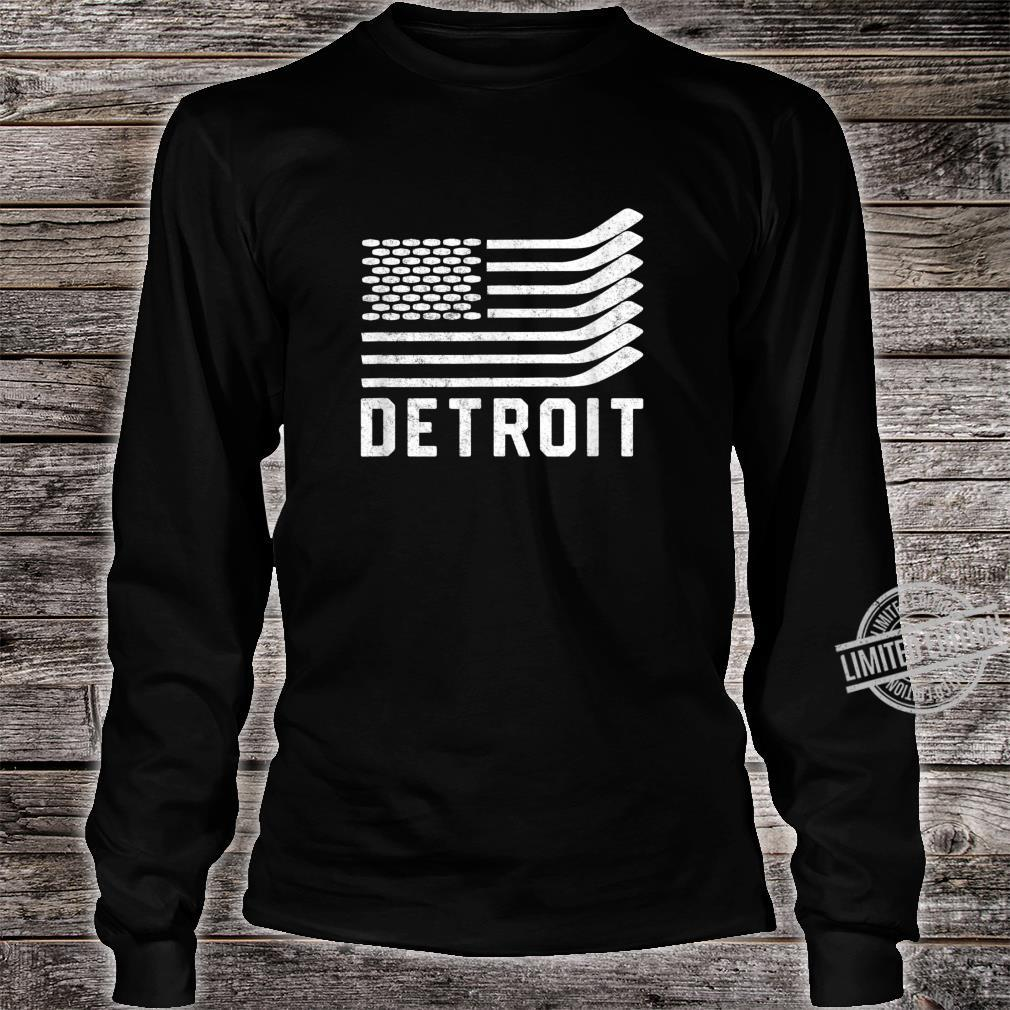 Detroit Hockey Is American Shirt long sleeved
