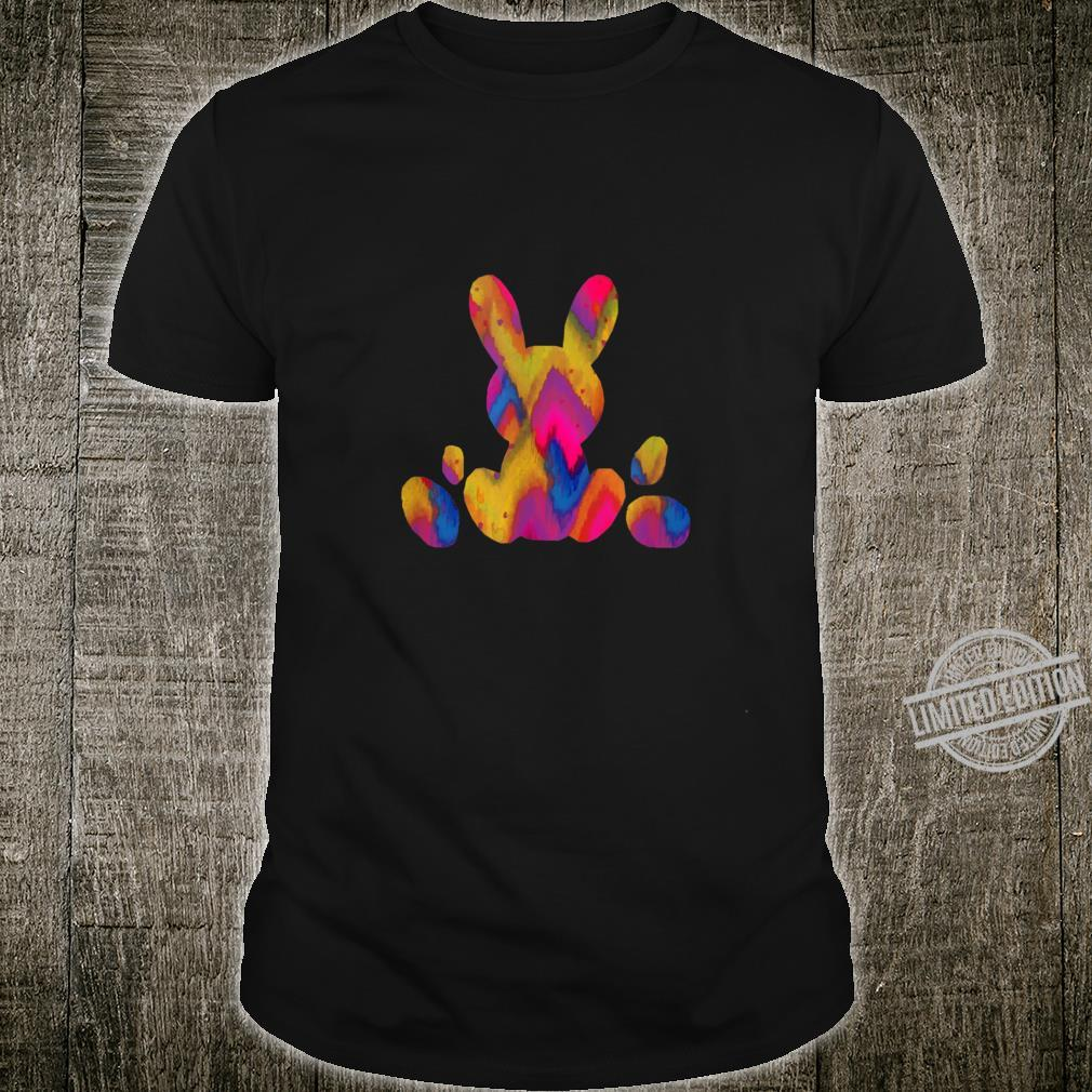 Easter Egg Bunny Colorful Pastel Children's Holiday Shirt