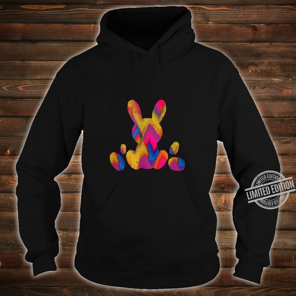 Easter Egg Bunny Colorful Pastel Children's Holiday Shirt hoodie
