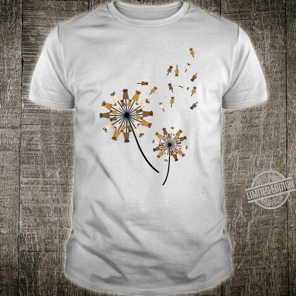 English Mastiff Dandelion English Mastiff Flower Hippie Shirt