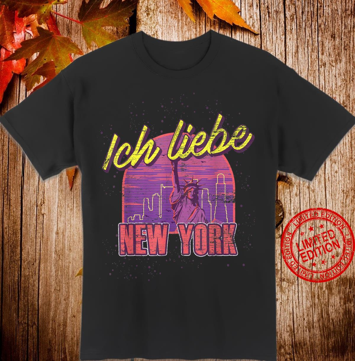 Freiheitsstatue USA Geschenk für Amerikaner New York Shirt