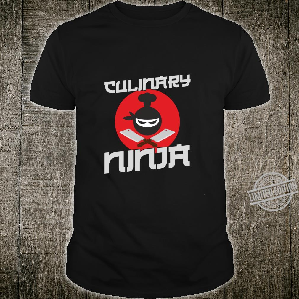 Funny Cooking Culinary Ninja for Cooks and Chefs Shirt