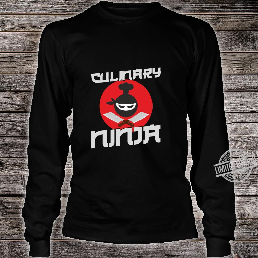 Funny Cooking Culinary Ninja for Cooks and Chefs Shirt long sleeved