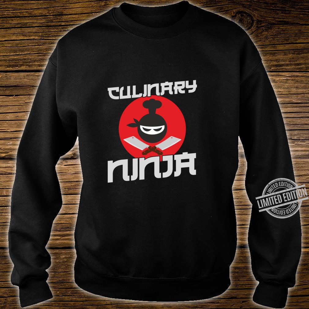 Funny Cooking Culinary Ninja for Cooks and Chefs Shirt sweater