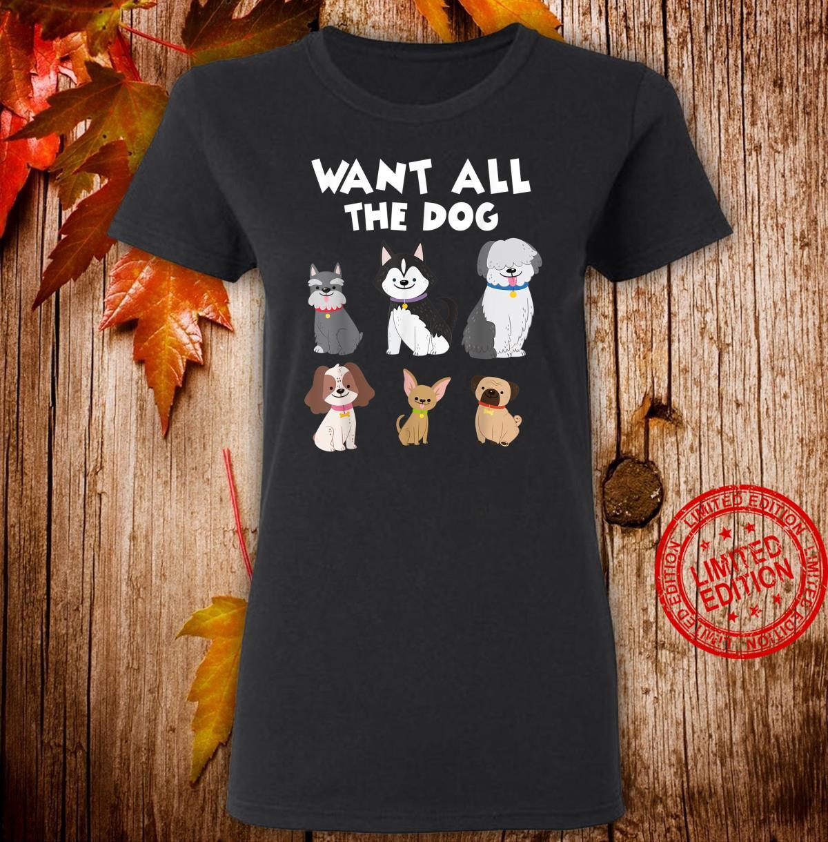 Funny Dog Quote Shirt ladies tee