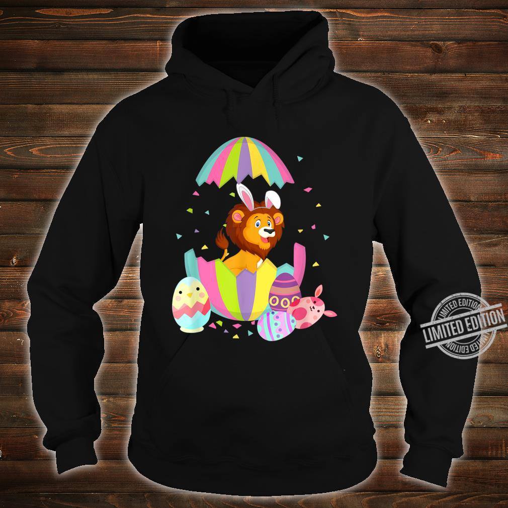Funny Lion Easter Egg Bunny Easter Bunny Lion Shirt hoodie