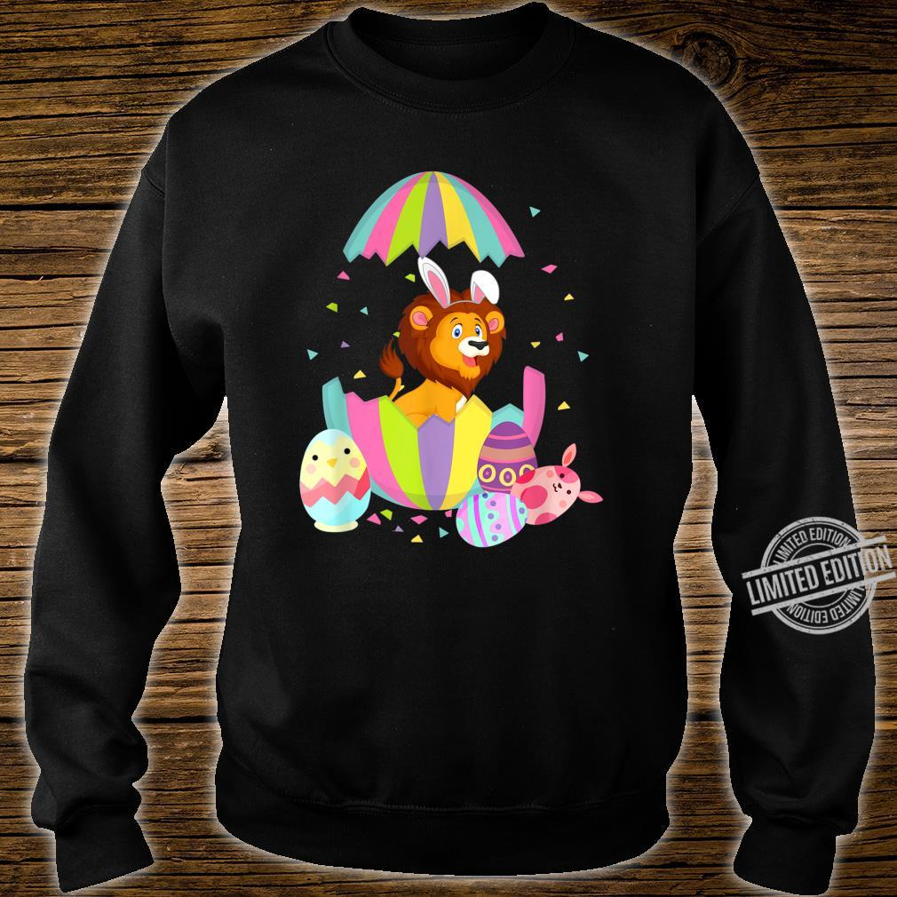 Funny Lion Easter Egg Bunny Easter Bunny Lion Shirt sweater