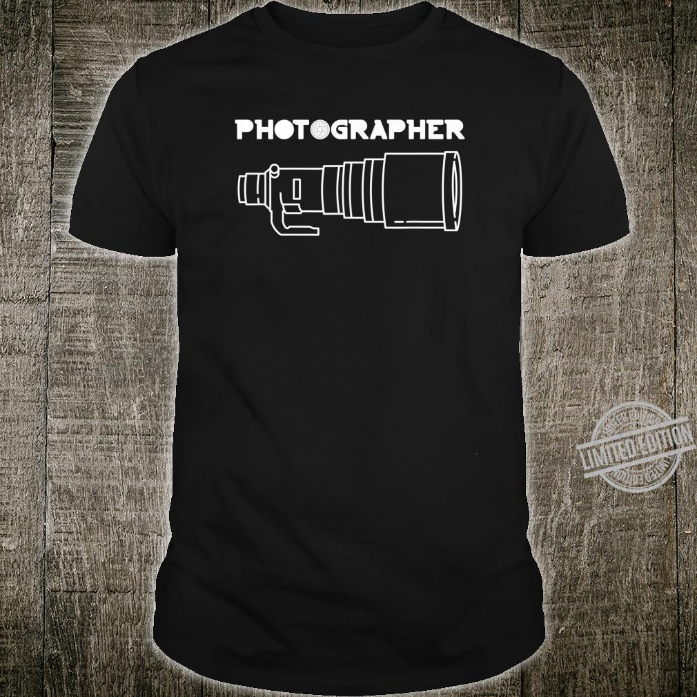 Funny Photographer Front & Back Shirt