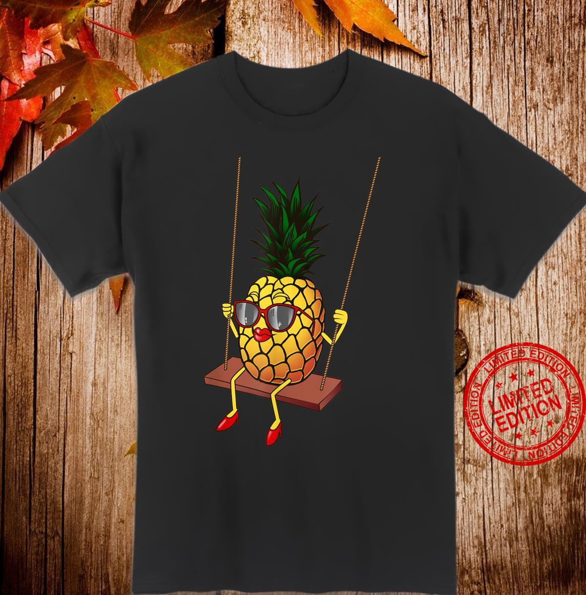 Funny Swinging Pineapple Cute Swinger Shirt