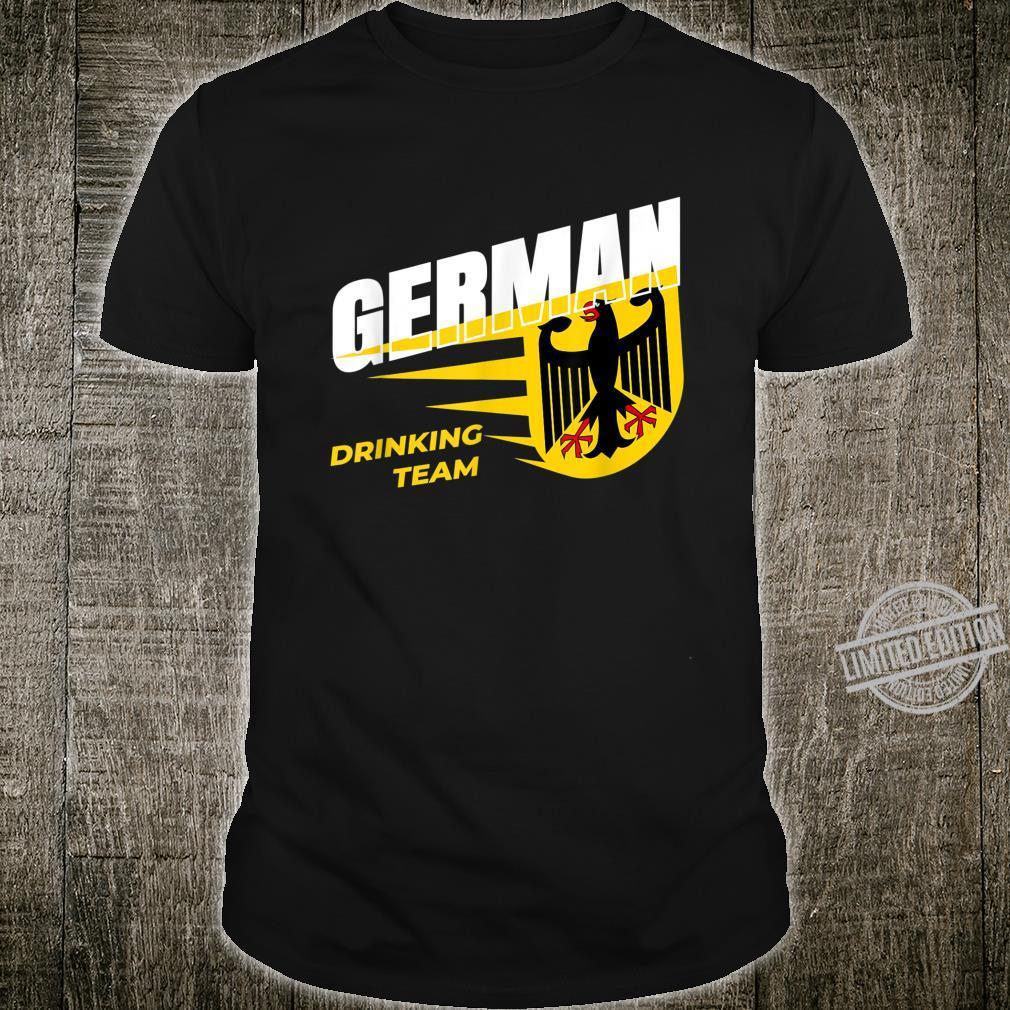 German Drinking Team I Celebration Festival Alcohol Beer Shirt