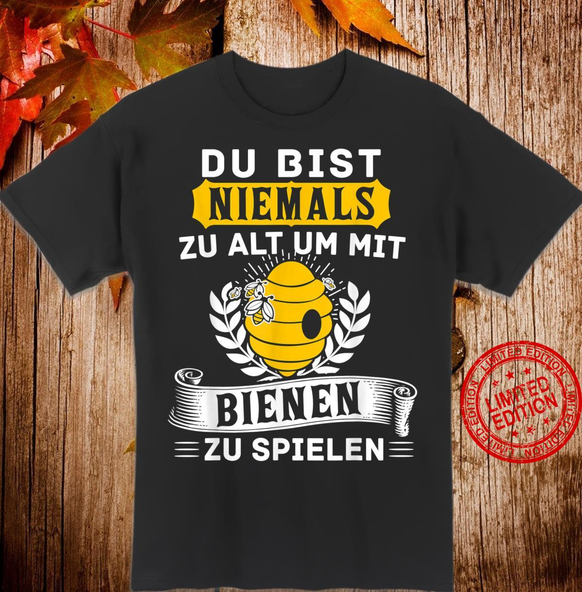 Geschenk Für Imker Rentner Biene Ruhestand Geschenk Shirt
