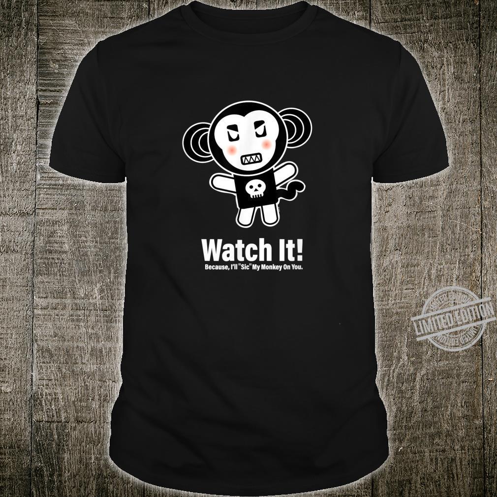 Goth Monkey Shirt