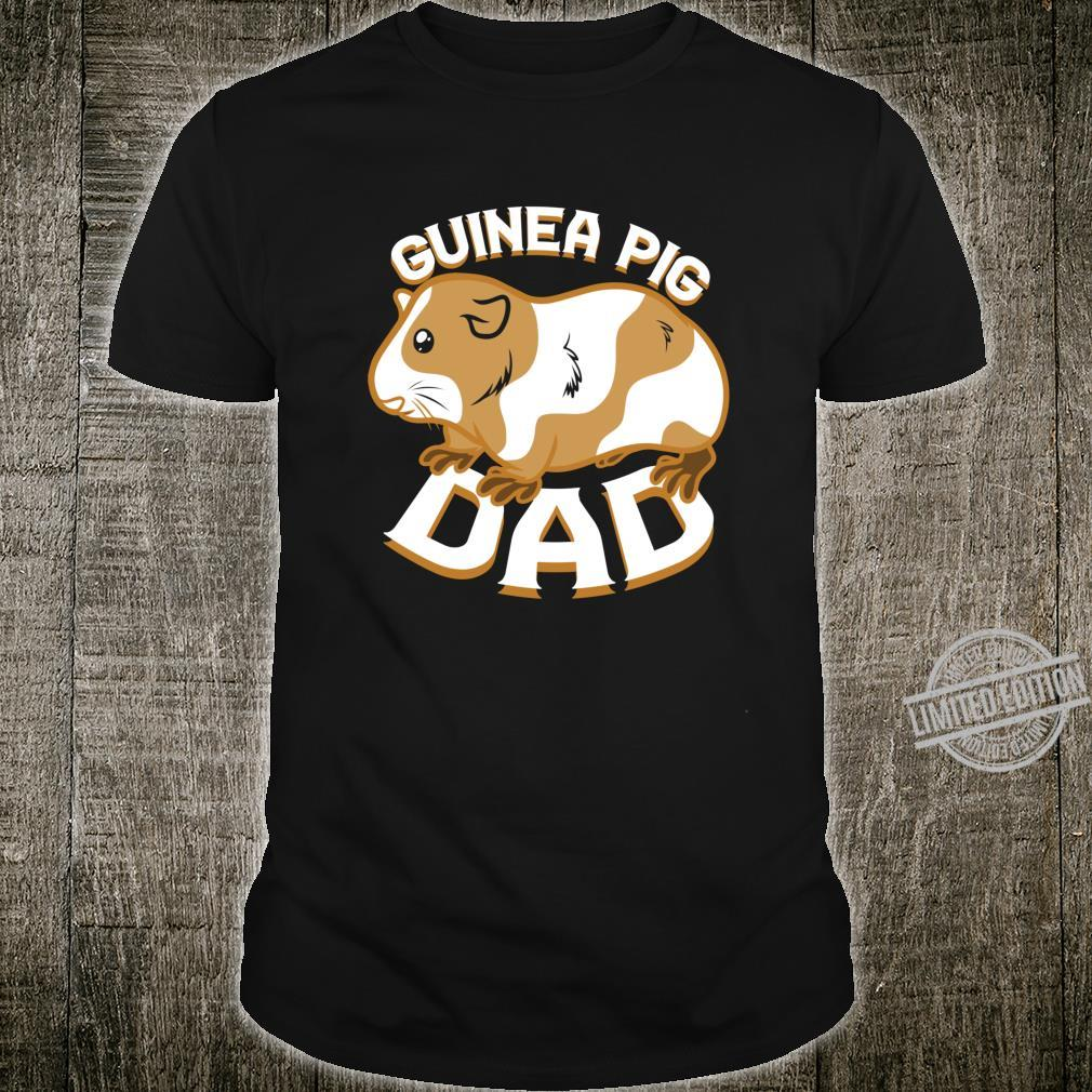 Guinea Pig Dad Pet Shirt