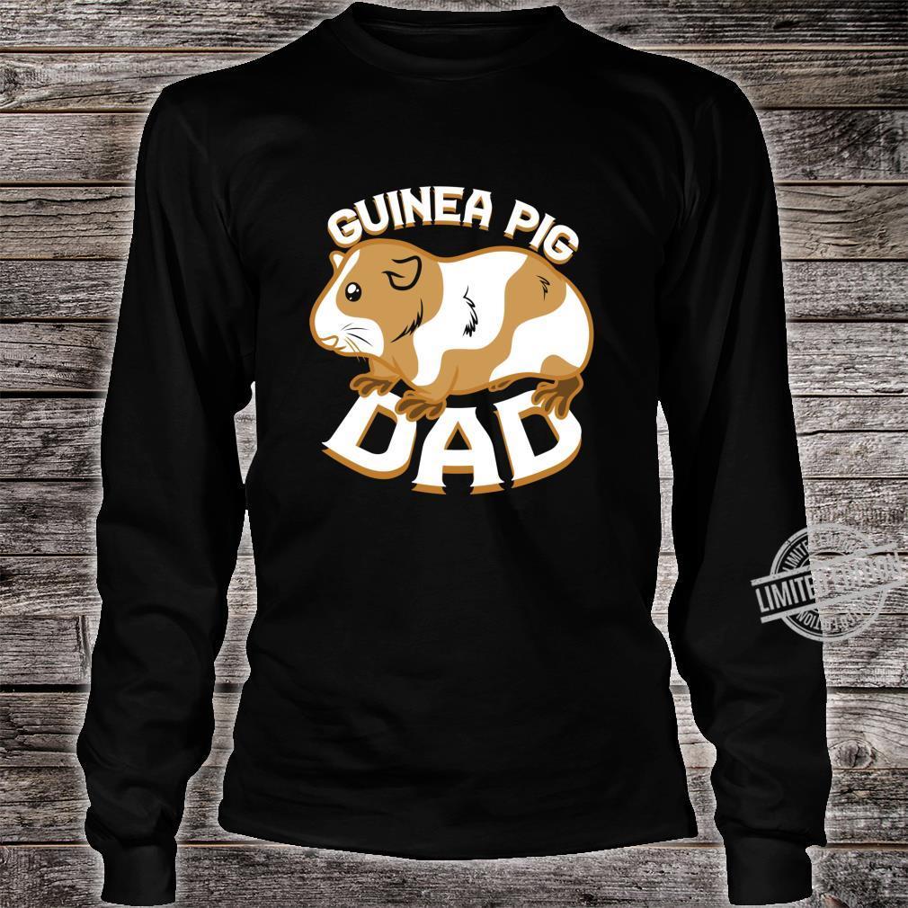 Guinea Pig Dad Pet Shirt long sleeved