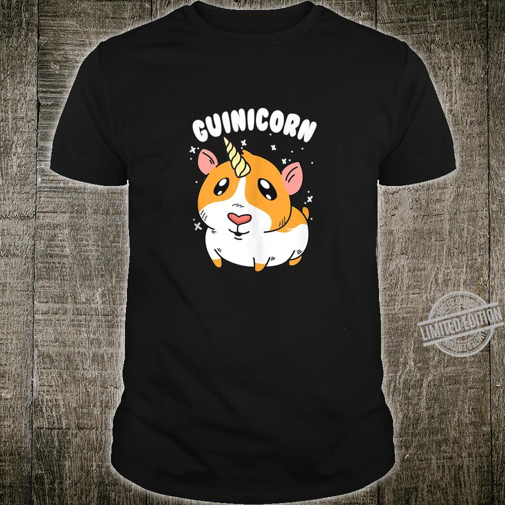 Guinea Pig Guinicorn Unicorn Animal Owner Shirt