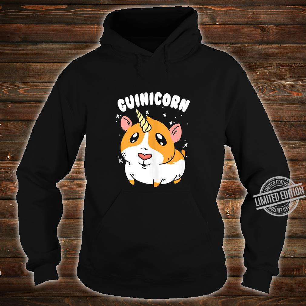 Guinea Pig Guinicorn Unicorn Animal Owner Shirt hoodie