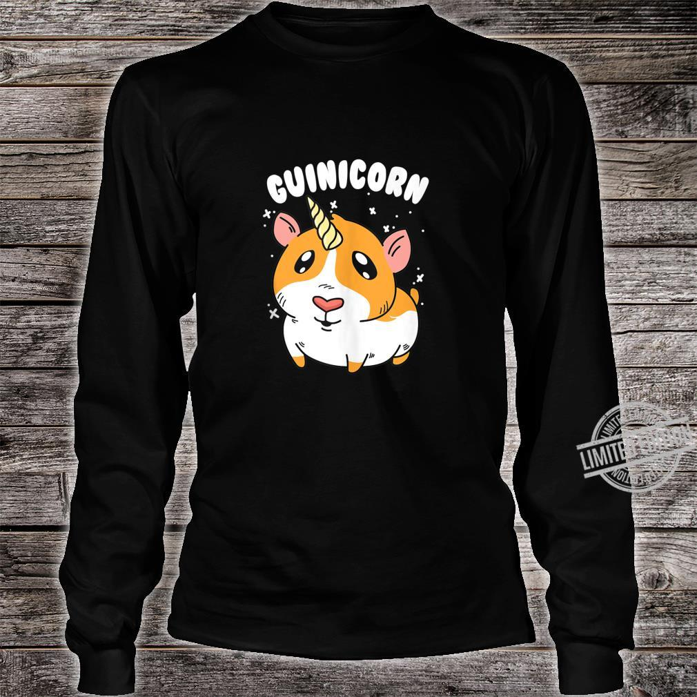 Guinea Pig Guinicorn Unicorn Animal Owner Shirt long sleeved