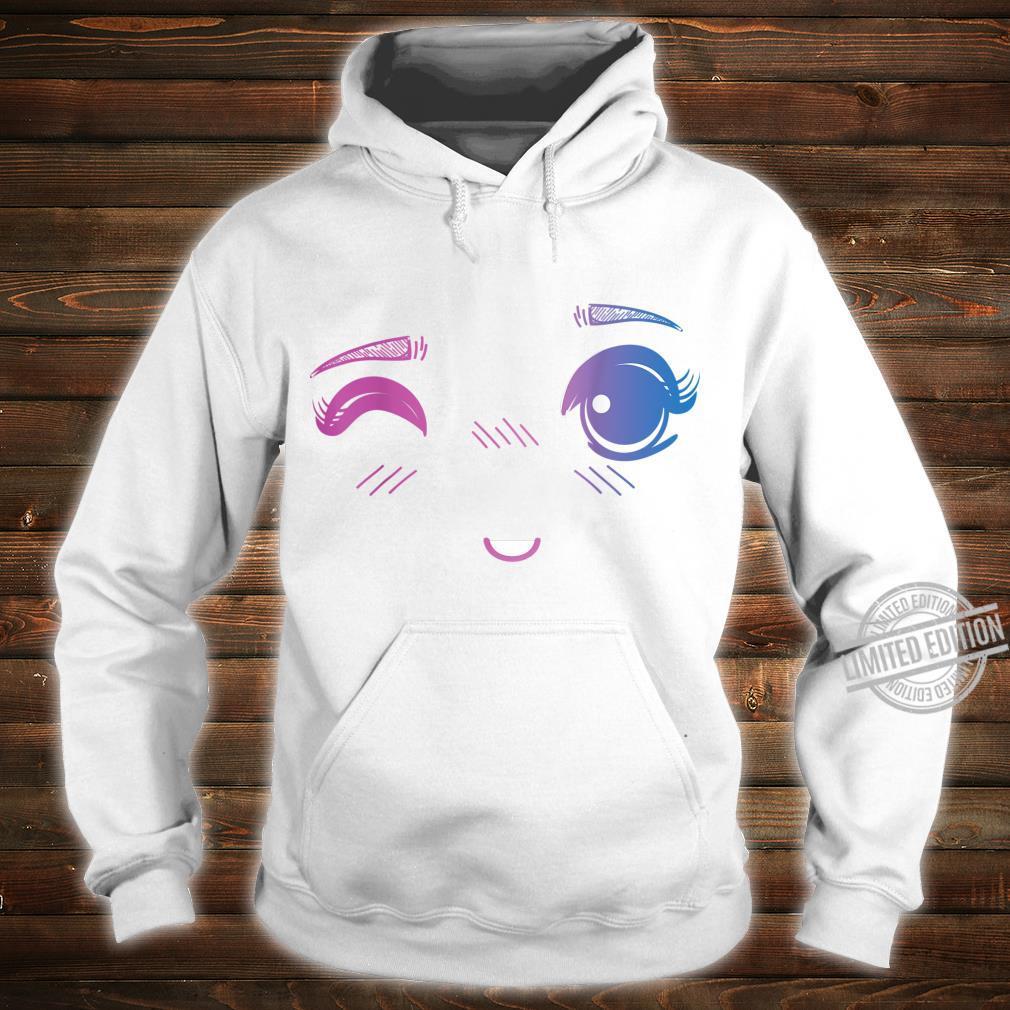 Kawaii Wink Anime Expression Shirt hoodie