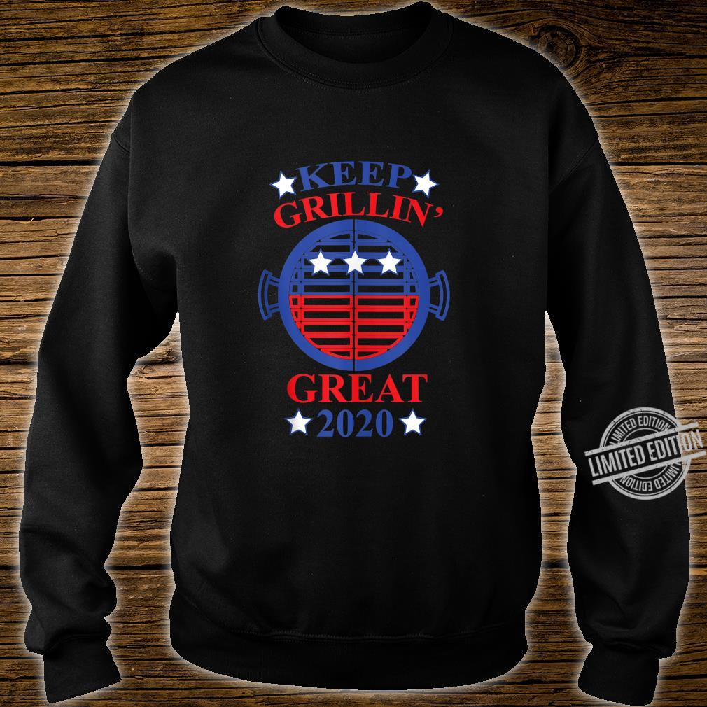Keep Grillin' Great 2020, Cooks Support Trump Republican Shirt sweater