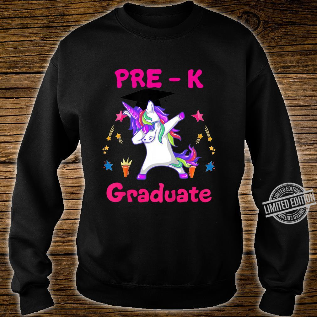 Kids Dabbing Unicorn PreK Graduate Class of 2020 Shirt sweater