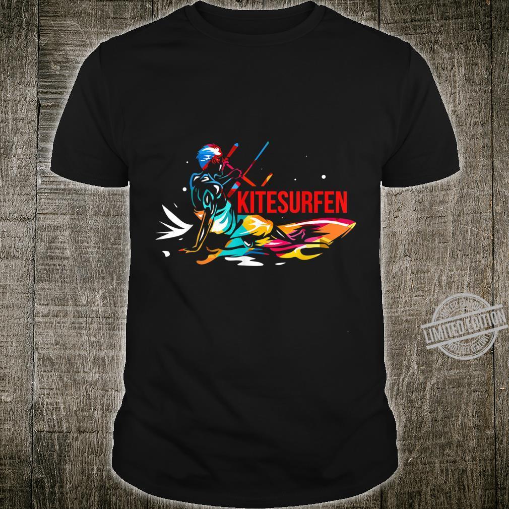 Kitesurfen Kitesurfing Kiteboarden Wassersport Shirt